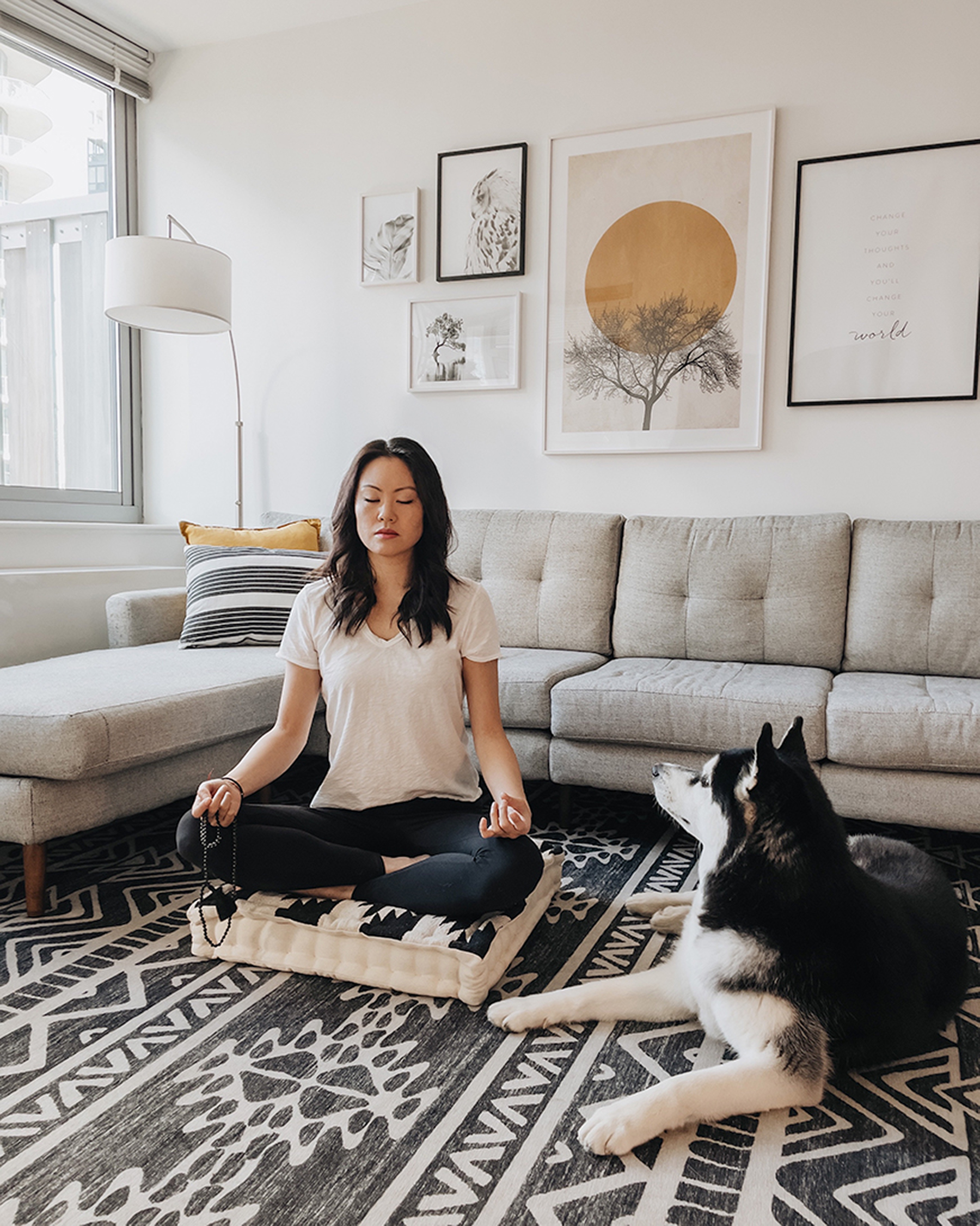 Meditation with your dog